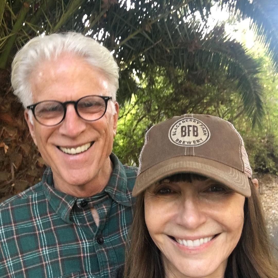 And also maybe from  this post that I literally just wrote about her and Ted Danson being the greatest couple in the entire world . (Yah, I'm obsessed, not sorry!)