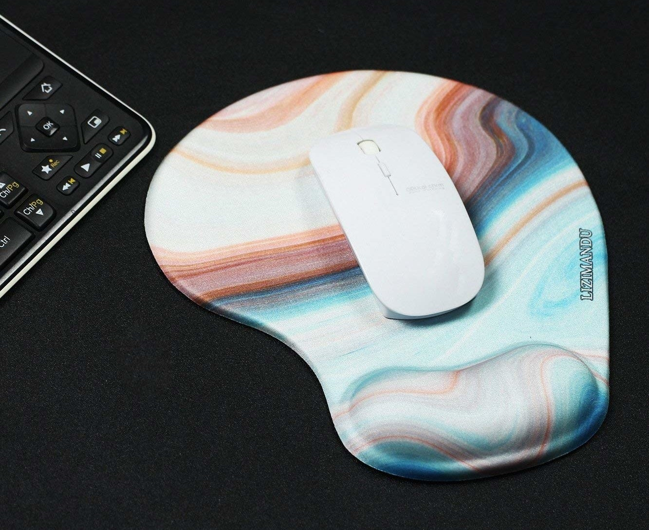 The mouse pad
