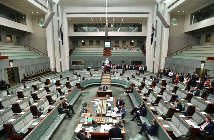 MPs Adam Bandt and Andrew Wilkie are the only two to vote against the legislation.