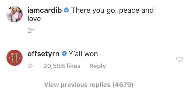 """""""Y'all won."""""""
