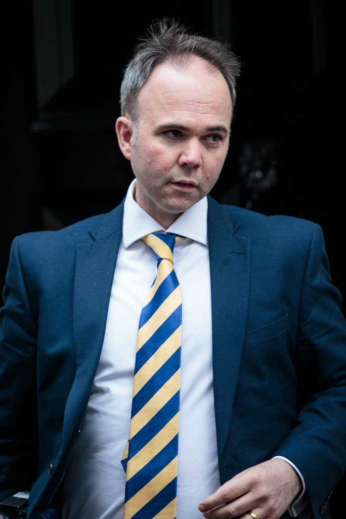 Number 10 chief of staff Gavin Barwell