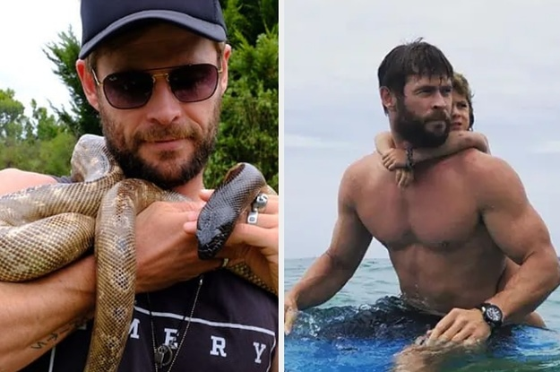 43 Times Chris Hemsworth's Instagram Absolutely Killed Me In 2018