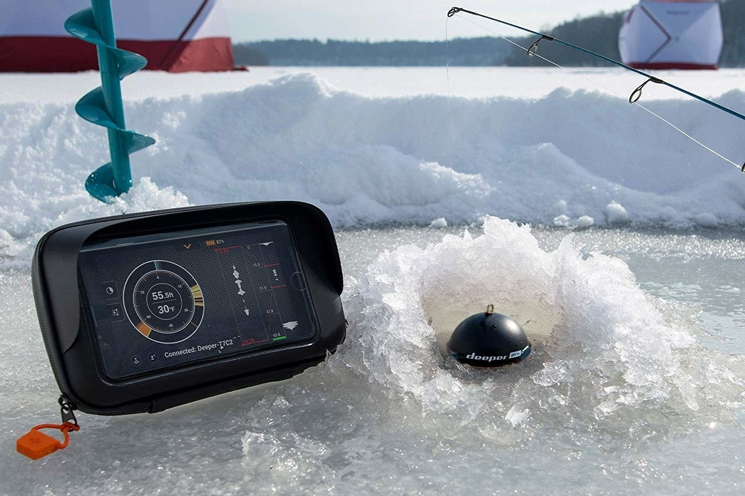 A Deeper Smart Sonar That Scans The Water So Fishing Fanatic In Your Life Has All Information They Need To Make Perfect Cast