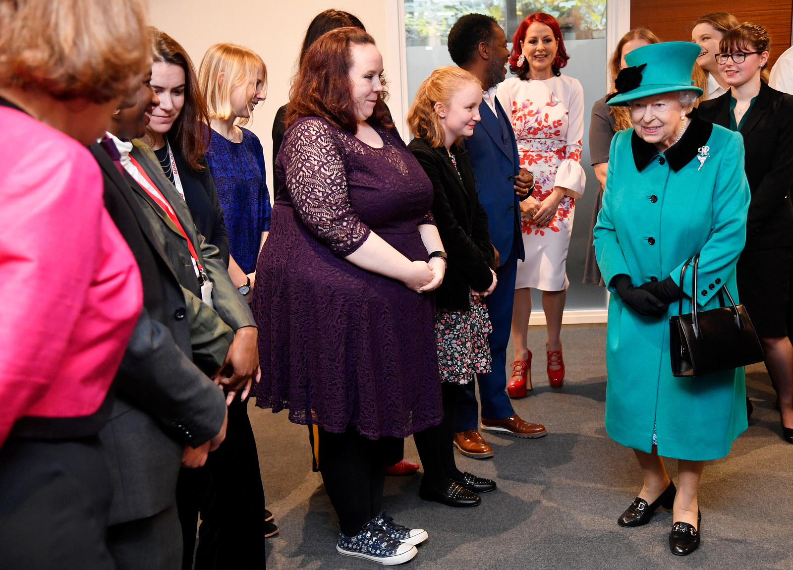 The queen seemed to understand, though.