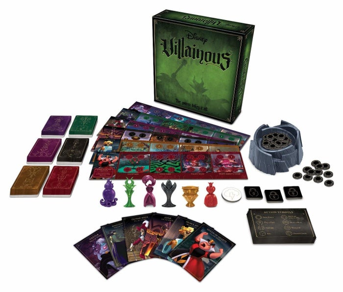 """Six people (ages 10+ recommended) can play as their favorite villain — Maleficent, Jafar, Ursula, Captain Hook, the Queen of Hearts, and Prince John — each with different abilities and objectives. Get it from Amazon for $34.97.Promising review: """"I love board games, particularly more adventurous and more adult ones, but getting my wife to play them with me is like pulling teeth. This one is very easy to learn but a challenge to master, which makes it accessible for those who are casual board gamers but enjoyable for the more hardcore enthusiast. Each play-through is different depending on what characters each player chooses, the strategy they apply, and the random draw of the cards. Can't wait until they release expansions with new villains."""" —Phil"""