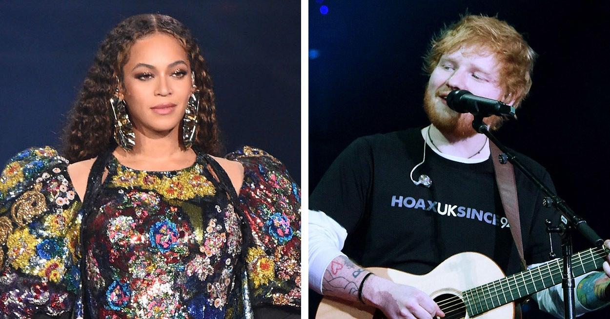 Ed Sheeran Has Responded To That Beyoncé Double Standards Debate