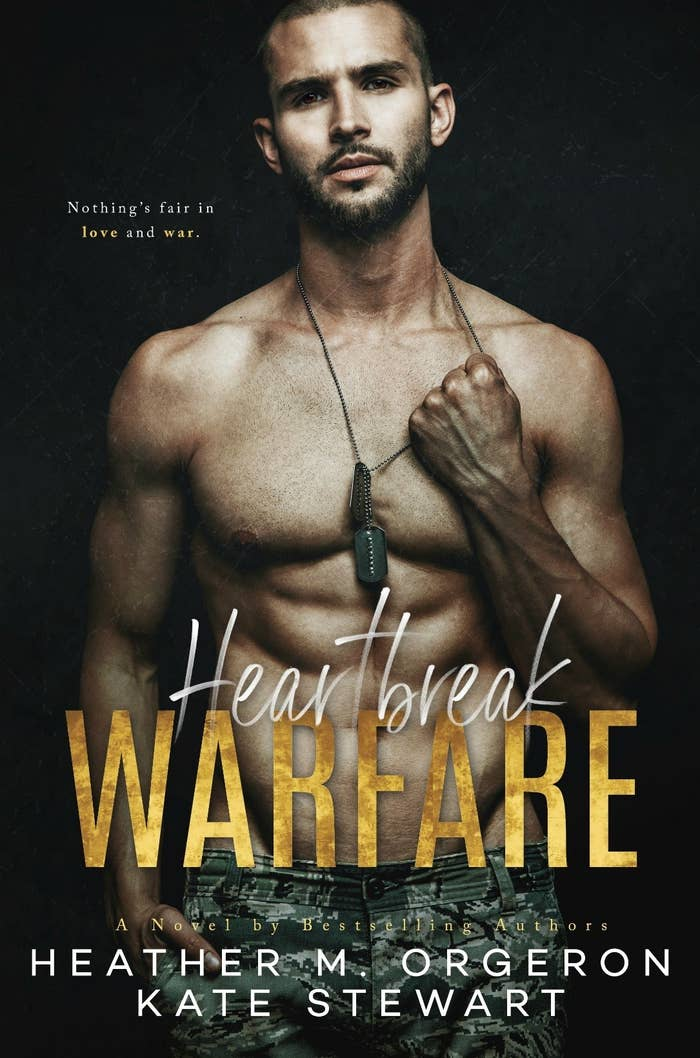 Heartbreak Warfare by Heather M. Orgeron & Kate StewartTOP 100 AMAZON BESTSELLER!Release Date: November 1, 2018Synopsis:Briggs,Remember when we parted ways in Germany? It was the day I broke your heart. What you didn't know was that I was breaking mine too.I thought they'd be enough–my husband and my son. That I'd get home and everything would go back to the way it was . . .Before the war. Before the ambush. Before you.But, no matter how hard I try, I can't erase the trauma we shared. I can't seem to forget the way my heart beat in time with yours. The truth is I'm lost without you.I thought the nightmare was over when they pulled us from that hole in the ground, but nothing could have prepared me for the war I'd face at home.I know it's selfish of me to ask, but, please, I have to see you one last time. . .All my love, Scottie
