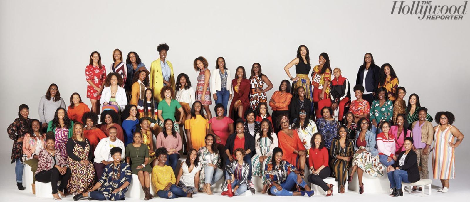 The members Black Women Who Brunch, a networking group co-founded by Lena Waithe, came together at the Hollywood Reporter to discuss their mission and state their presence in the industry. It's only fitting that this record-breaking honor would be bestowed on these fabulous ladies.