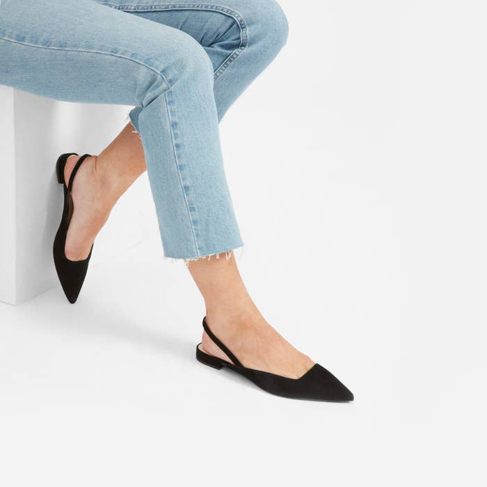 ef79040502 Slingback flats you'll want to wear with every pair of cutoff jeans you own.