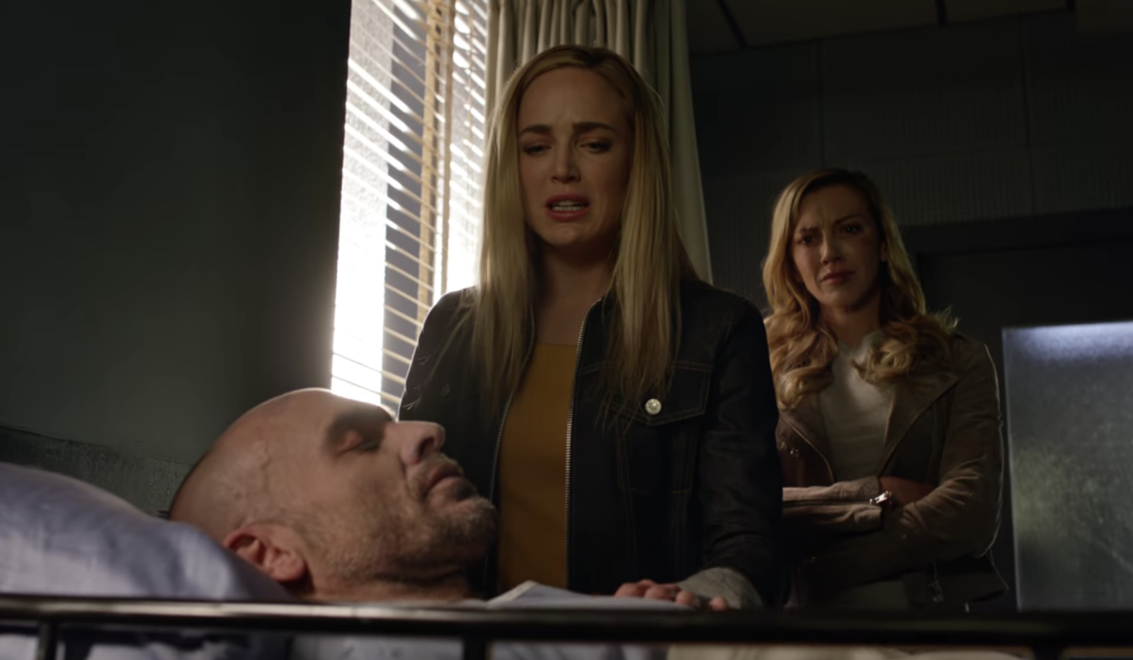 Arrow  said farewell to an original cast member when Quentin Lance was killed during Diaz's reign of terror on Star City. -  Another original cast member we said farewell to this year, Quentin died after saving Earth-2's Laurel from Ricardo Diaz.