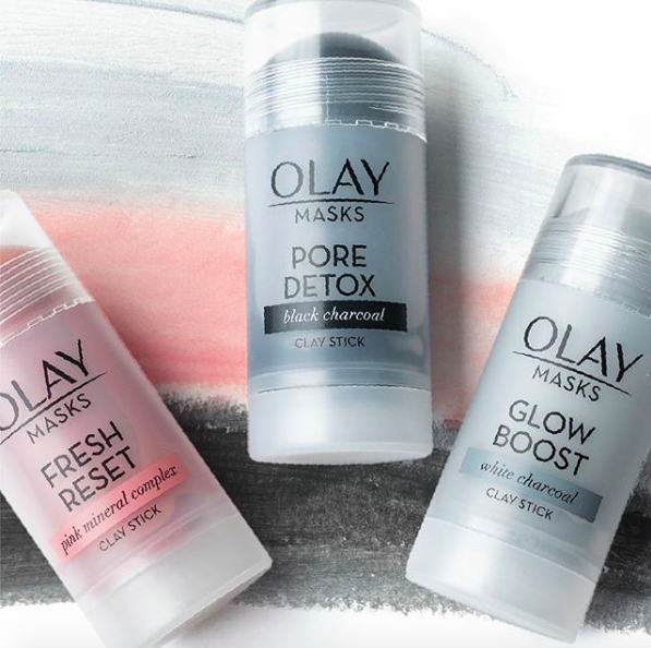 the clay mask sticks
