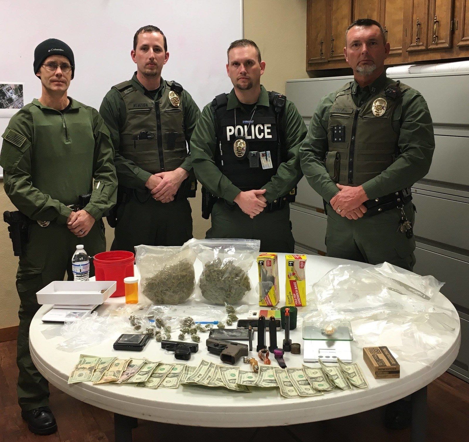 "Local Cops Posted Pics Of A ""Drug Bust"" And People Won't Stop Trolling Them"