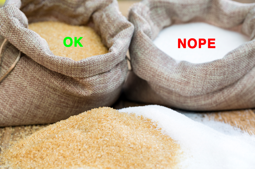"Some commercial white sugars are processed with bone char, making them not suitable for vegan baking. An easy way to get around that is by using sugars that are labeled vegan or ones called ""evaporated cane juice""/""cane sugar"". These sugars are usually slightly darker in color but can be substituted cup for cup in most cookie recipes. This also applies to powdered sugar, which is sometimes processed with bone char, so just make sure you're buying brands that are labeled ""vegan.""More: Check out a list of popular vegan sugar brands."