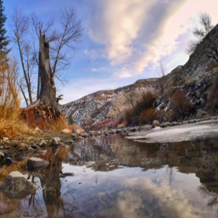beautiful scenic river pic