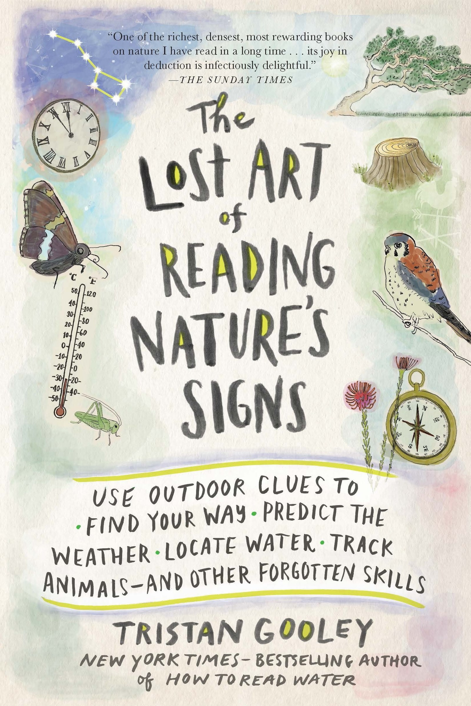 "cover of the book ""The Lost Art of Reading Nature's Signs"""