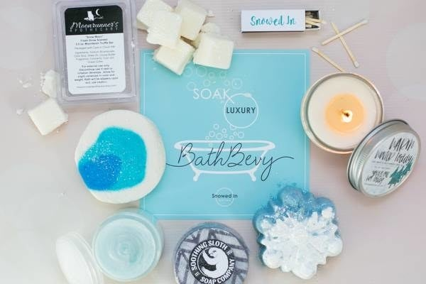 What you'll get: Choose between a monthly or quarterly subscription! Each box will include six to ten bath products such as bath bombs, bubble bars, bath salts, body scrubs, handmade soaps, and more.Get it from Cratejoy for $38.95/month for the monthly subscription, or $38.95/three months for the quarterly subscription.