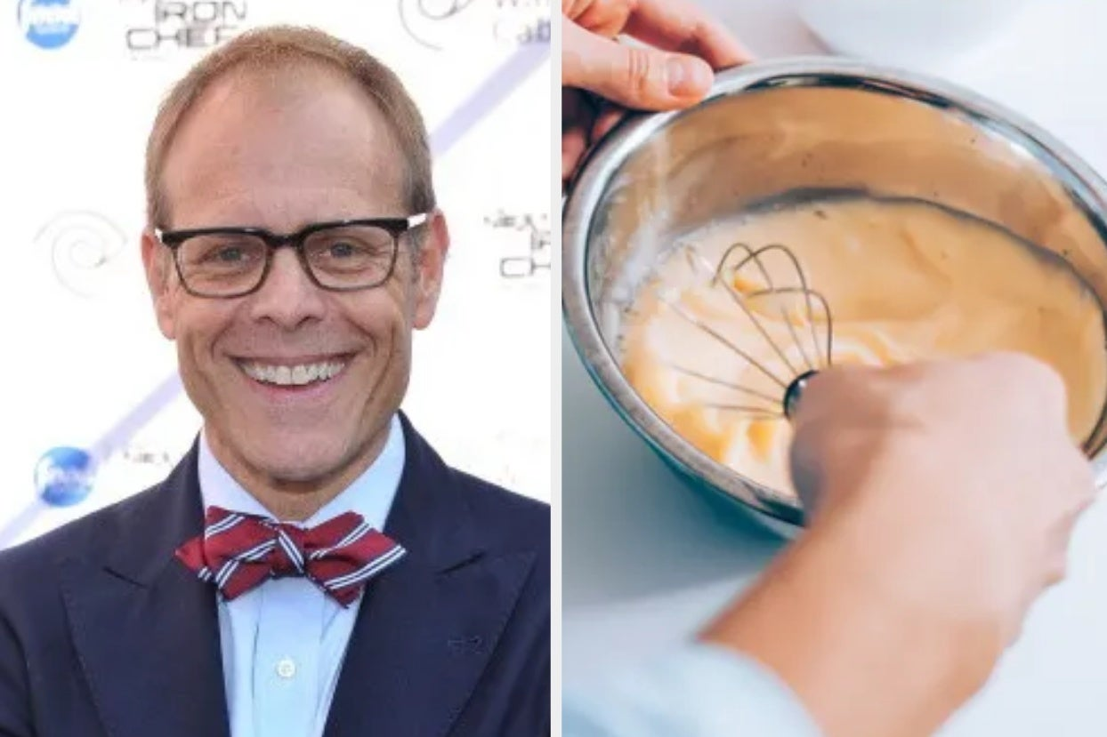Alton Brown Adds Mayo To His Scrambled Eggs And You Should Too