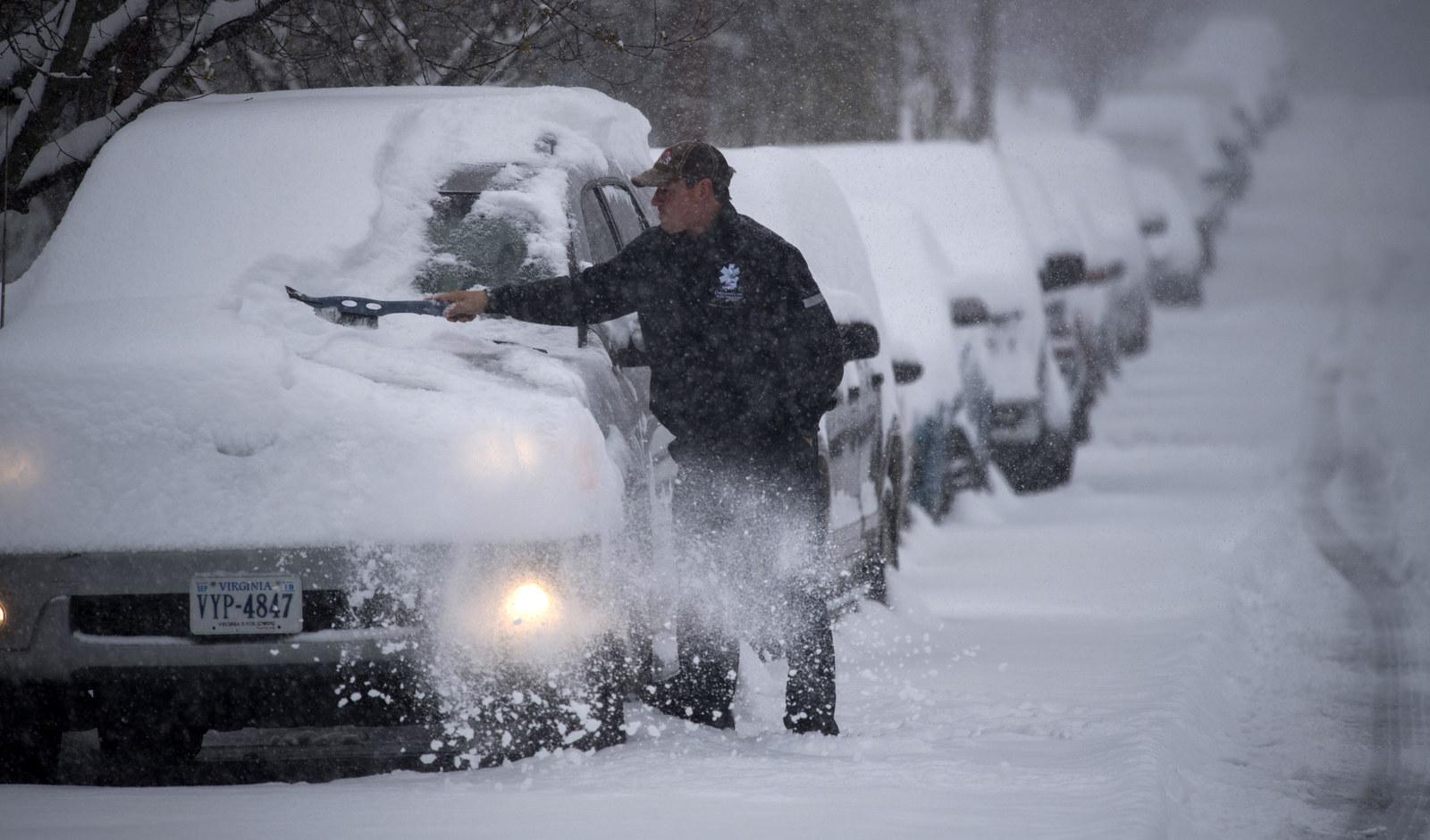 Snow, Sleet, And Ice Wreak Havoc As Winter Storm Diego Slams The Southeast