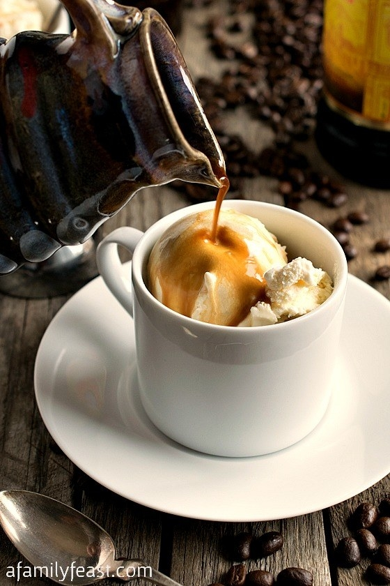 Affogato — hot espresso poured over cold ice cream — is one of those dishes that's so simple that it practically doesn't even need a recipe. It's the perfect pick-me-up after a heavy dinner or a delicious midday treat to help you power through. It's part dessert, part beverage. Get the recipe.