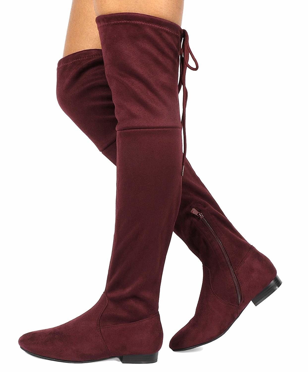 0e338af5f5a Over-the-knee boots you might be tempted to wear every single day. Should  you  Absolutely. It s your life. Live your truth.