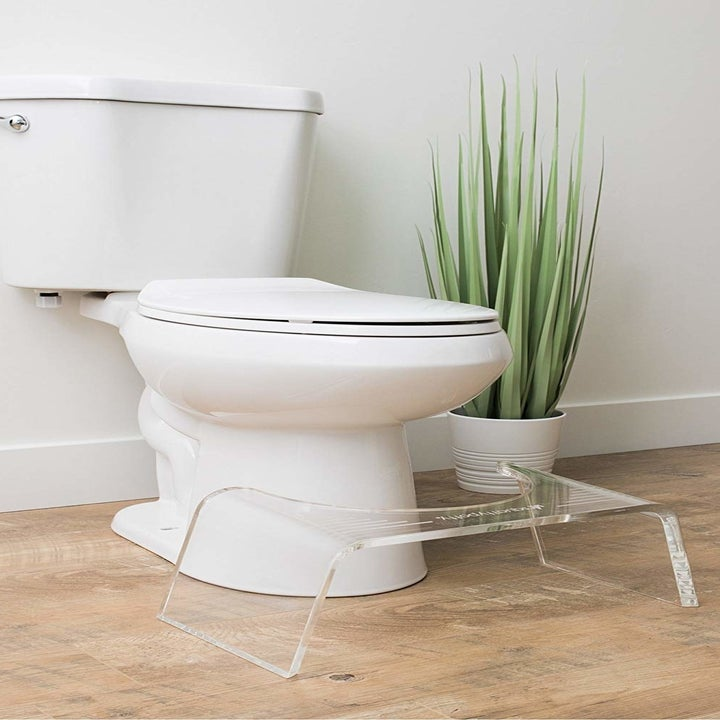 clear acrylic squatty potty