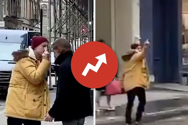 This Viral NYC Middle Finger Fight Is So Intense, It Doesnt Matter If Its Real