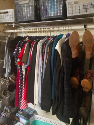 """This product is perfect. It solved our daughter's dorm room closet problem for her boots!!! Took up only alittle closet space. Easy to assembly too. Love it!"" —Jill T.""Great for dorm rooms. Easy and works great."" —barbara kilgore-profio""Fit perfectly in my daughter's dorm room armoire."" —Debbie J."
