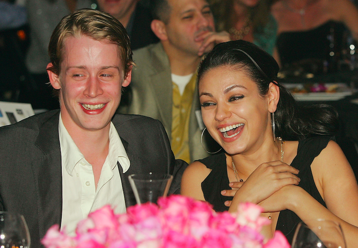 It's hard to picture Mila with anyone other than Ashton Kutcher, but she had an eight-year-long relationship with everyone's favourite child star Macaulay Culkin.