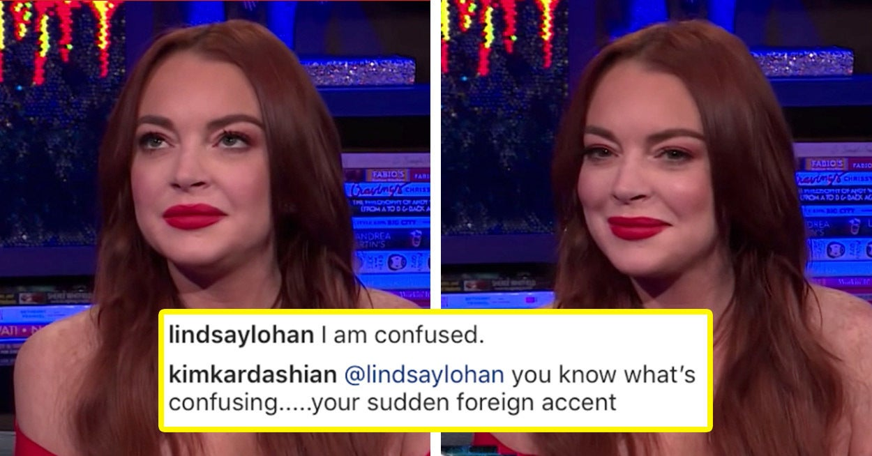 Lindsay Lohan Just Addressed That Weird But Savage Feud With Kim Kardashian