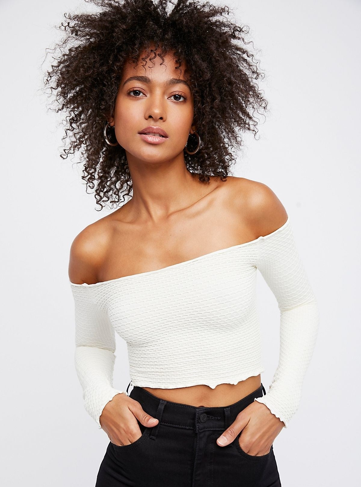 "Promising review: ""This top is so cute and comfortable! The stretchy fabric is loose enough to move around, but also tight enough to wear without a bra. I would definitely purchase this again in other colors!"" —mfotinoPrice: $24 (originally $48; available in sizes XS/S-M/L and 11 colors)"