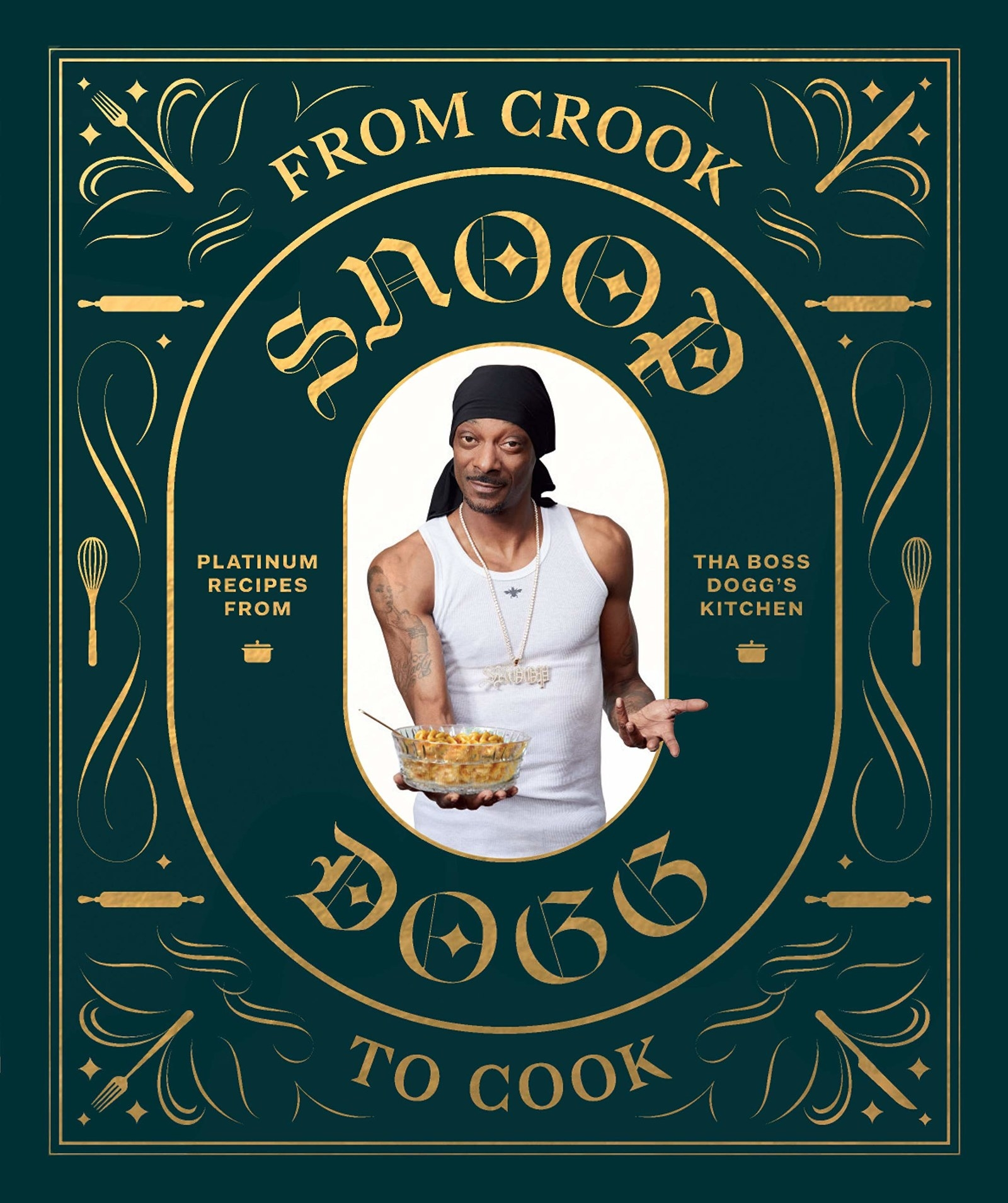 If you want to check out even more of Snoop Dogg's recipes, check out his book, From Crook to Cook: Platinum Recipes from Tha Boss Dogg's Kitchen  . - From Crook to Cook  is available on Amazon for  $24.96 .