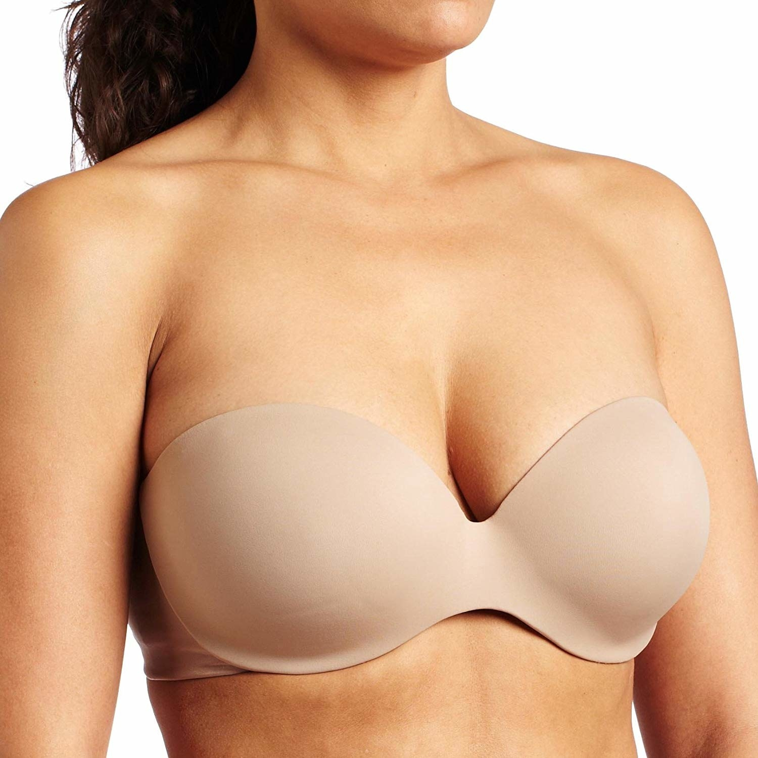 c07492114f5 A seamless bra with padding around the underwire that makes it a revolution  in comfort. No more poke-y wires!