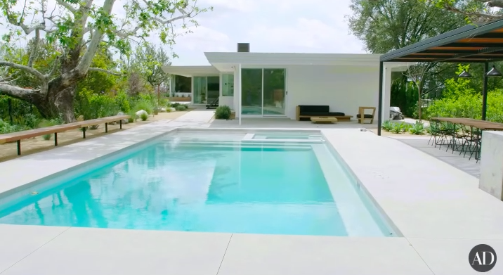 The  This Is Us  star and voice of Rapunzel has a gorgeous home in Pasadena with a giant pool, barbecue area, and spa.