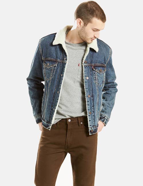 These jacket styles look great on EVERYBODY and are versatile enough to wear with numerous looks. So you can guarantee your sweetie will get tons of use out of them.Get the jacket from Levi's for$98(available in sizes XS-2XL and in eight washes).