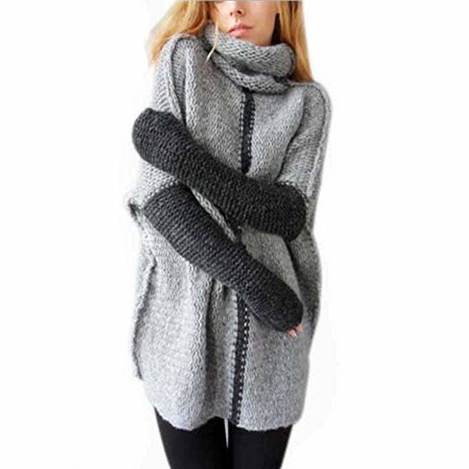 7fa5298d54706 A cowl-neck pullover that will have you hugging yourself all day because  it s so damn cute and cozy.