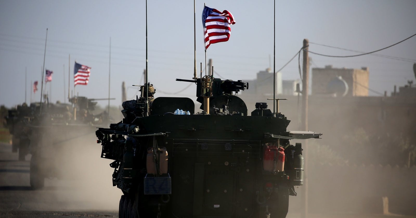 The US Military Says The Withdrawal Of Troops From Syria Has Begun