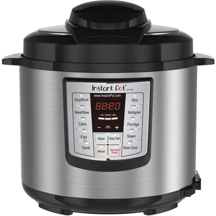 This can be used as a rice cooker, steamer, slow cooker, saute, warmer, pressure cooker, cake cooker, or egg cooker!Get it from Walmart for $79 (originally $99).