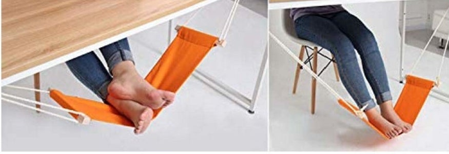 foot hammock under desk