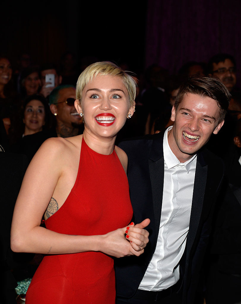 Patrick also famously dated Miley Cyrus for 6 months in 2014/2015.