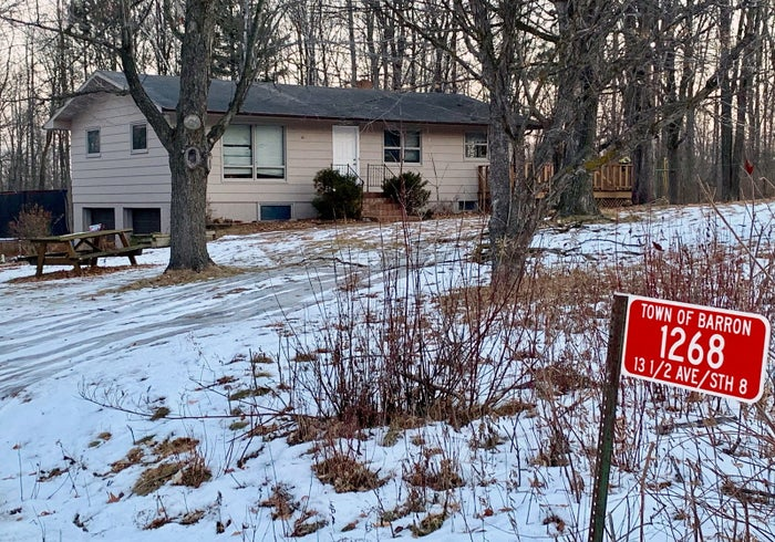 The home where teenager Jayme Closs lived with her parents in Barron, Wisconsin.