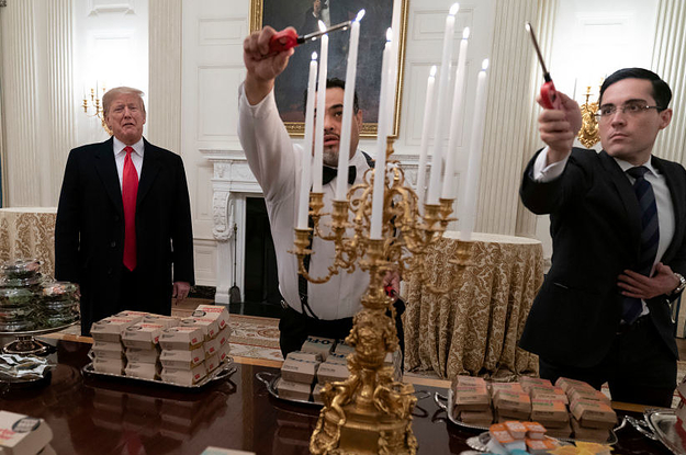 Donald Trump Served The Clemson Tigers Fast Food For Their White House Visit And The Jokes Are Good