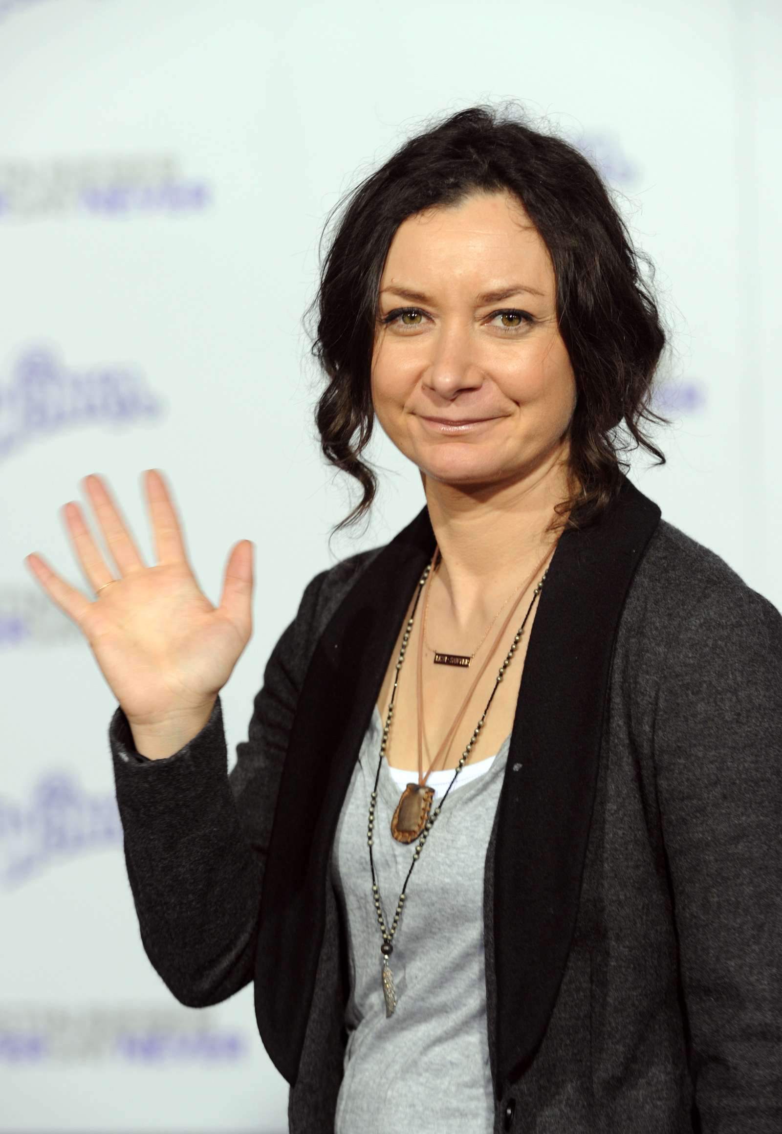 Sara Gilbert was also there too for some reason