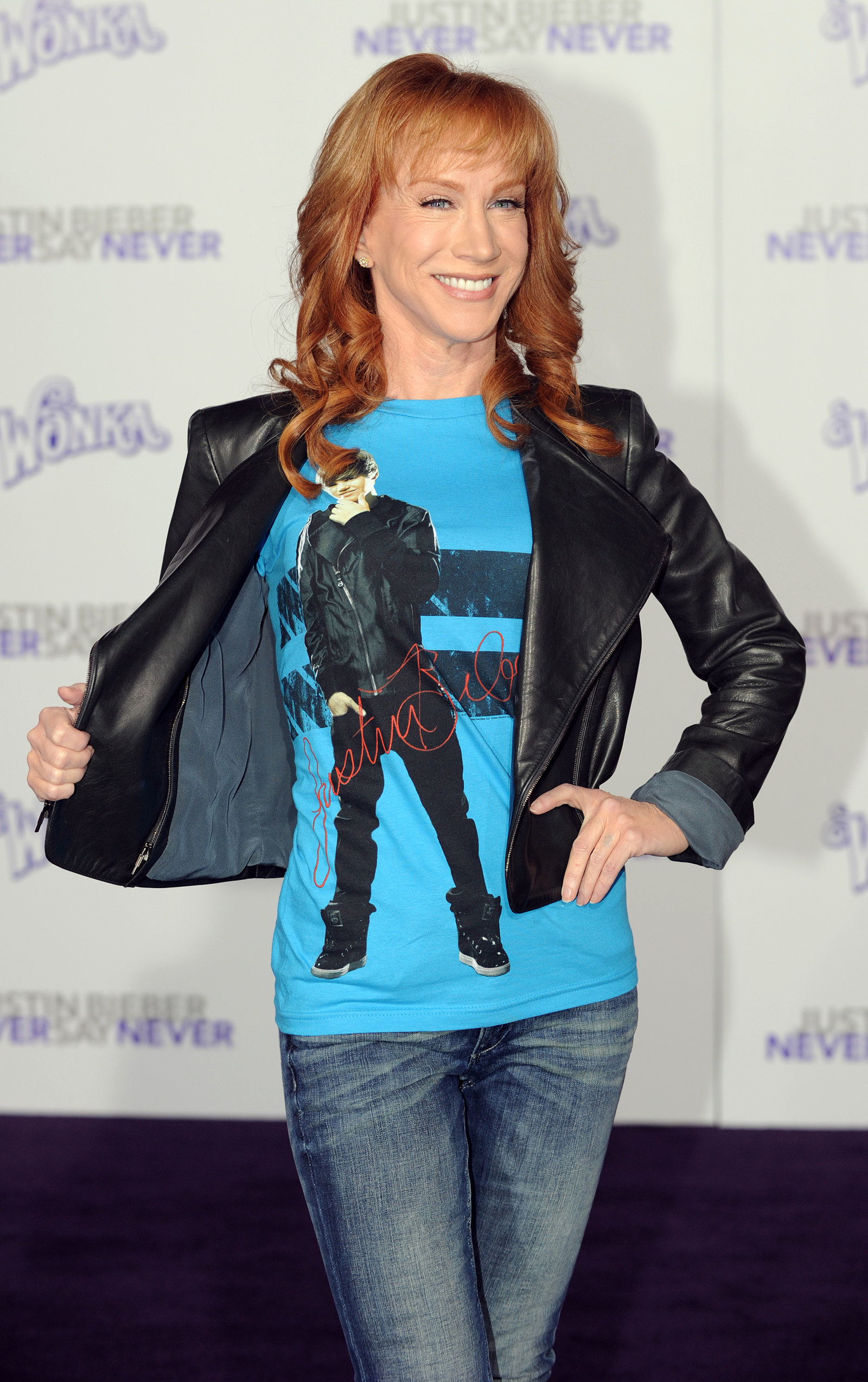 Super fan, Kathy Griffin was in attendance