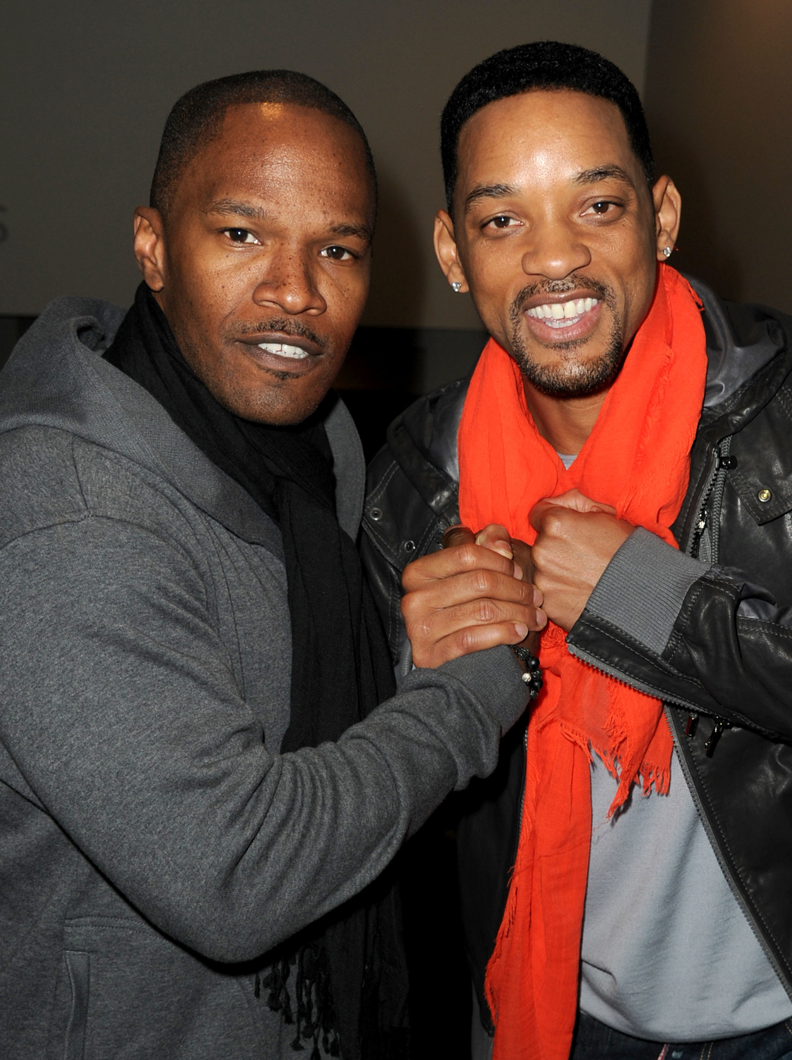 Jamie Foxx couldn't contain his excitement