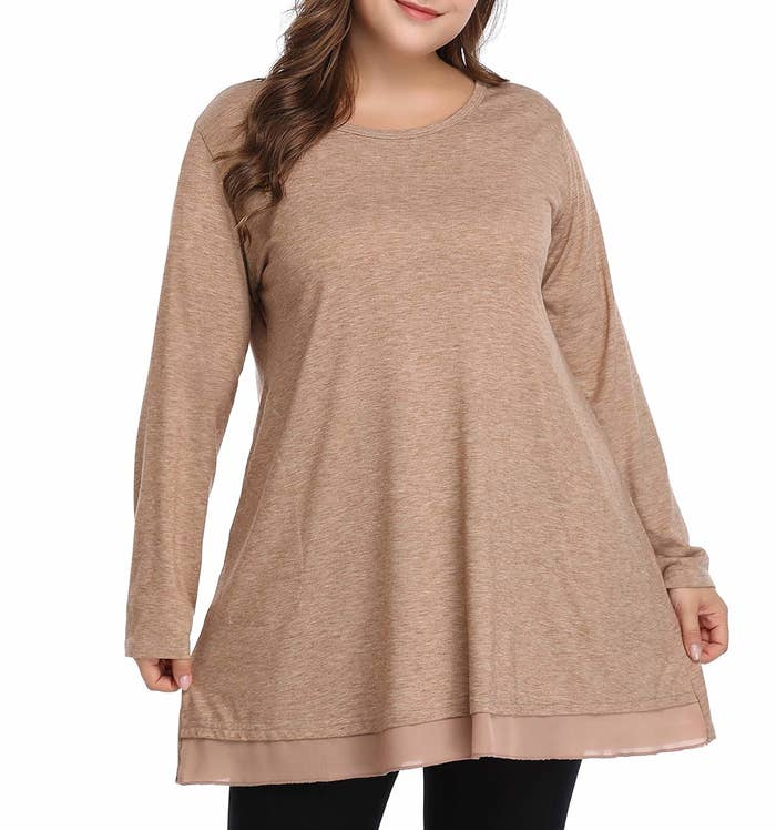 e8c118fa3e2 A cotton and lace tunic top to beat sweaters at their own game — you ll  feel just as cozied up