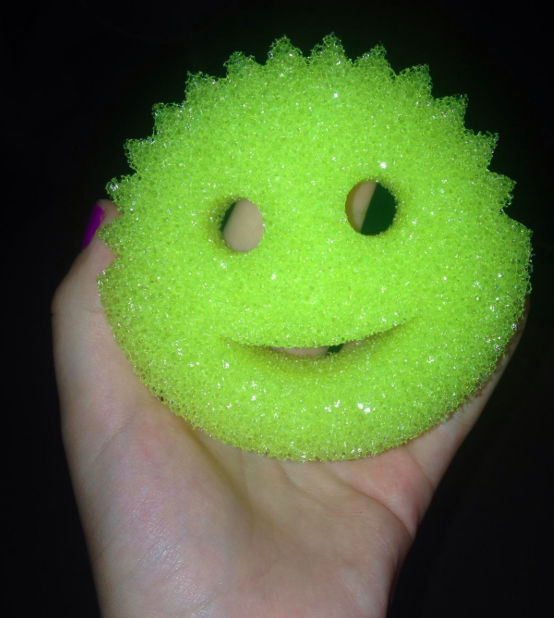 A customer review photo of the Scrub Daddy