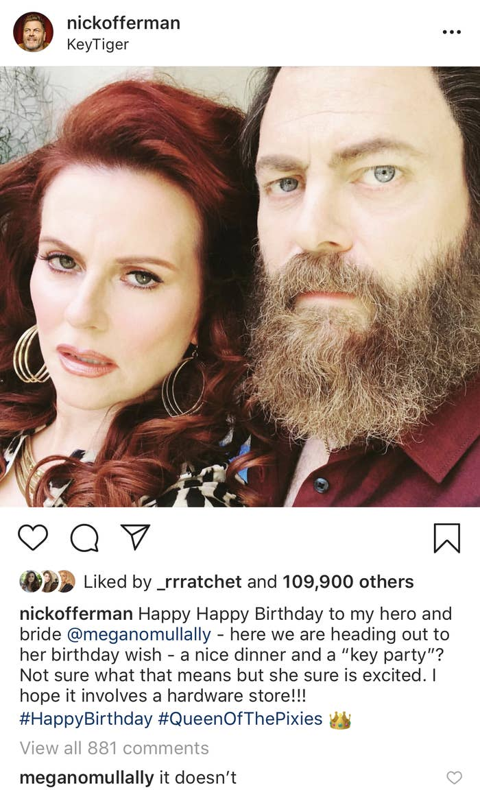 nick offerman instagram