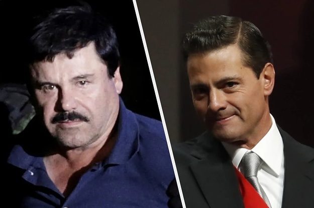 """Drug Lord """"El Chapo"""" Paid A $100-Million Bribe To Mexico's Former President, A Witness Testified"""