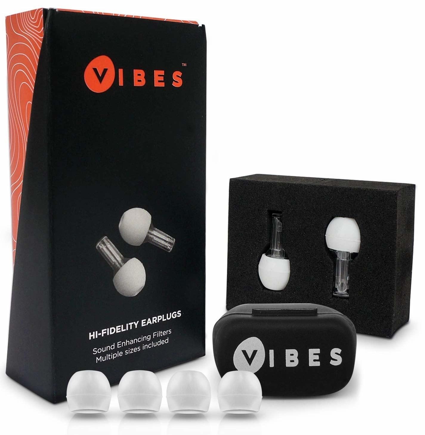 The Vibes High Fidelity earplugs