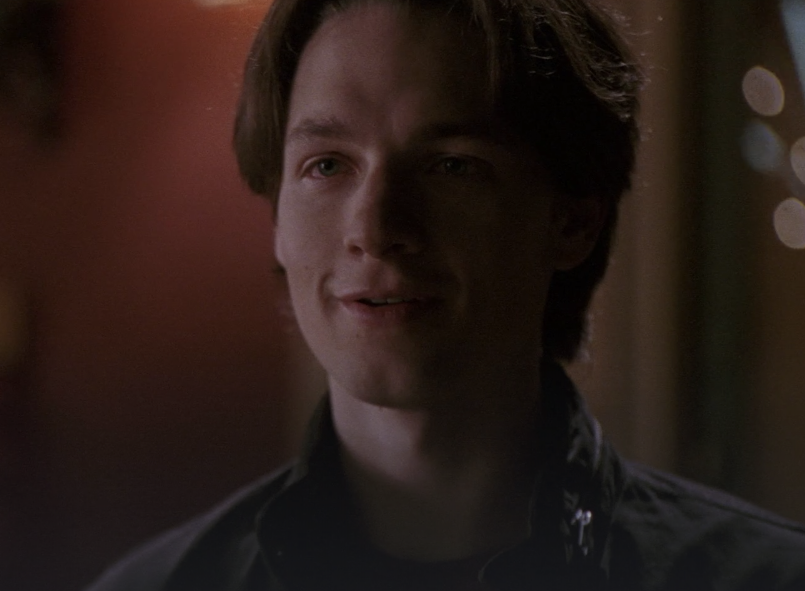 Everwood  almost ended with Ephram getting a phone call from his ex-girlfriend Madison and  never reuniting with Amy at the Ferris wheel . -  The series was cancelled after the Season 4 finale, so this ending would've been an insane cliffhanger.